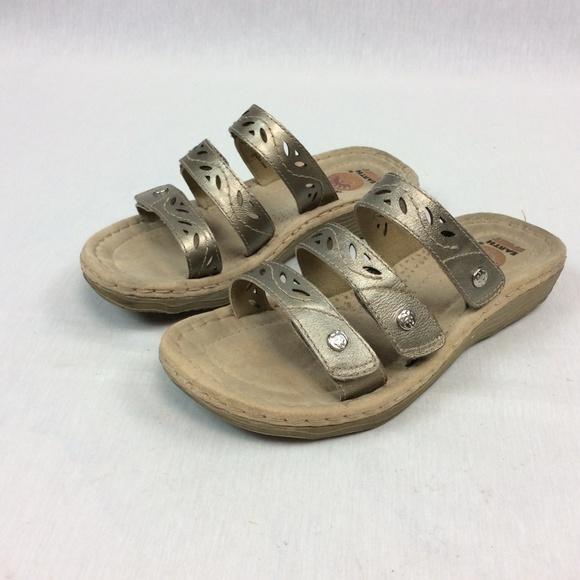 cf38fb31fc01 Earth Spirit Shoes - Earth Spirit Sandals Adjustable Slides